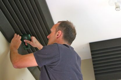 Corner bass trap RAM 400-1000 ceiling
