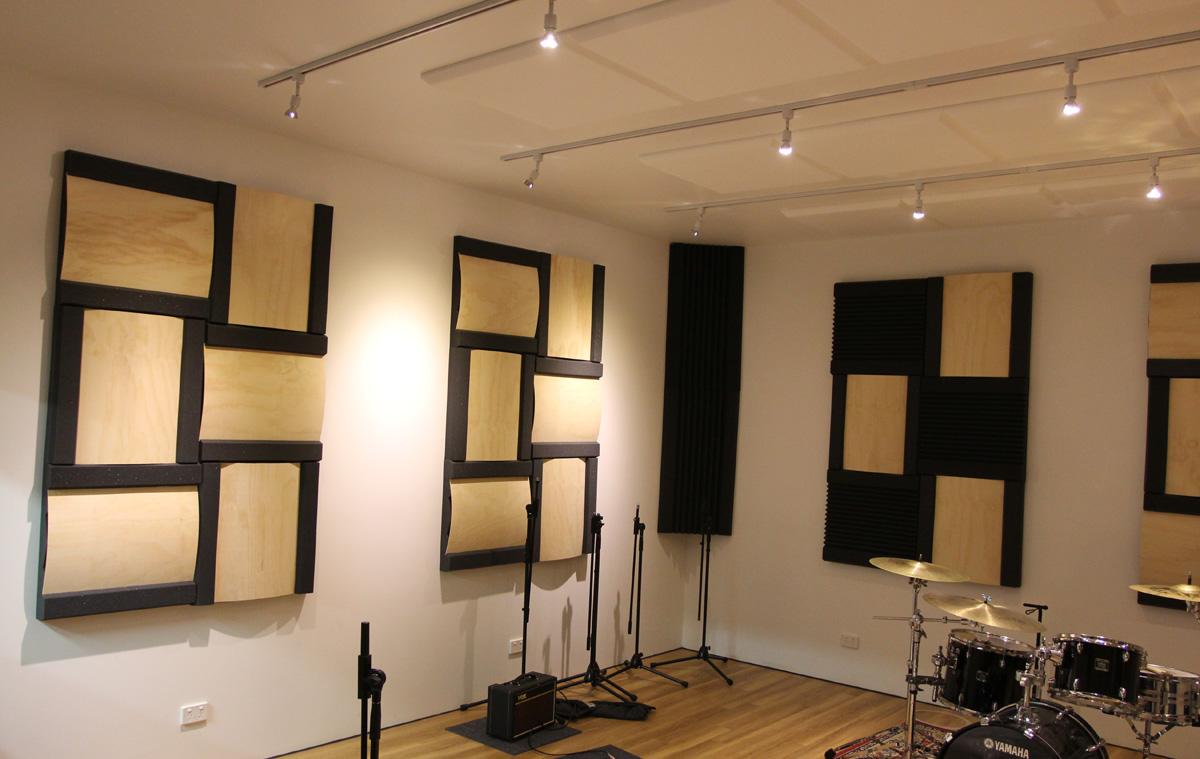 Home Music Studio Design Plans