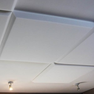 White Acoustic Ceiling Panel MP700-40