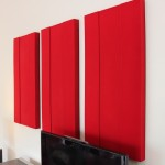 Rosa Noir Home theatre acoustic panel