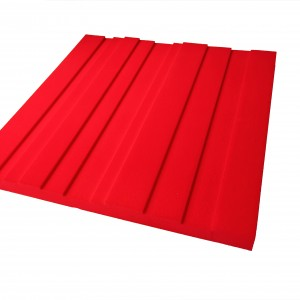 Lundor Acoustic panel Candy Red