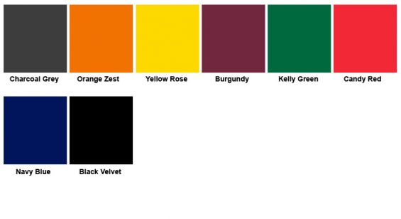 Lundor Standard Colours