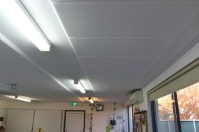 White Ceiling Acoustic Panels